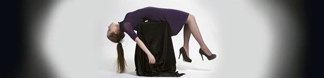 Деловое платье из шерсти